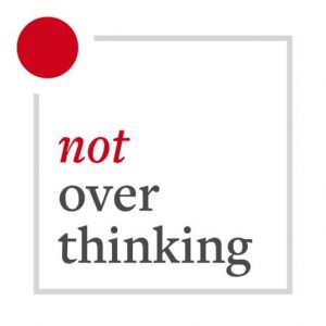 Not Overthinking – The weekly podcast about happiness, creativity, and the human condition.